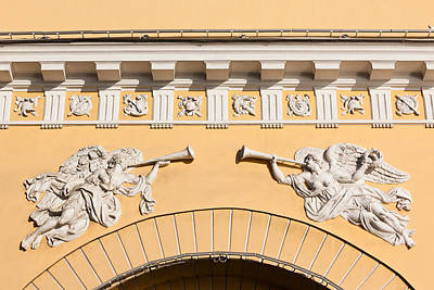 Bas-relief Photograph - Admiralty Building Detail, St by Panoramic Images