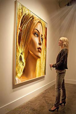 Admiring Beauty Print by Chuck Staley