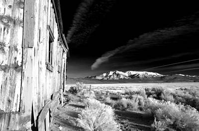 Mining Photograph - Adobe Valley Shack by Cat Connor