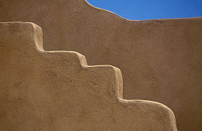 Taos New Mexico Photograph - Adobe Wall by Buddy Mays