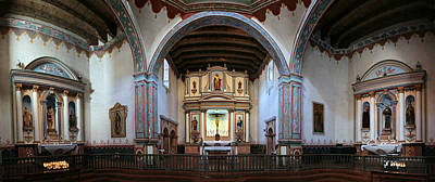 Adoration - Mission San Luis Rey De Francia  Print by Stephen Stookey