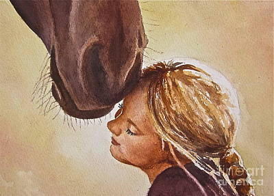 Painting - Adoration by Andrea Timm