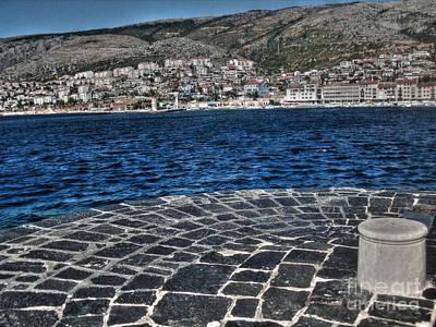 Adriatic Sea Print by Nina Ficur Feenan