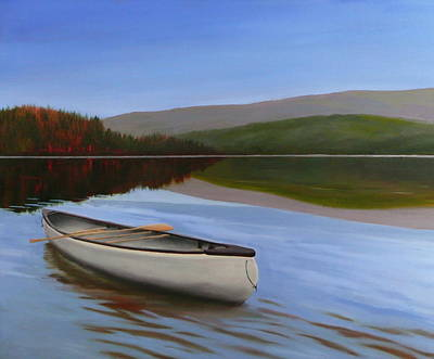 Adrift Painting - Adrift by Jo Appleby