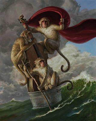 Painting - Adrift by Sam Yeates