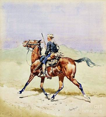 Advance Guard Print by Pg Reproductions
