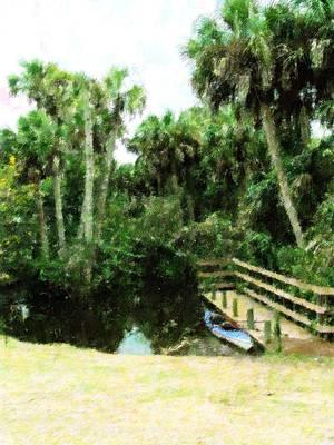 Canoe Mixed Media - Adventure Awaits by Florene Welebny