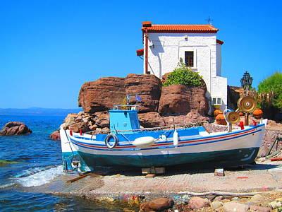Harmony Photograph - Aegean Dream by Andreas Thust