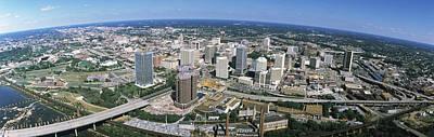 Aerial Richmond Va Print by Panoramic Images