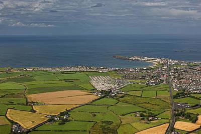 Portrush Photograph - Aerial View Portrush by Colin Bailie