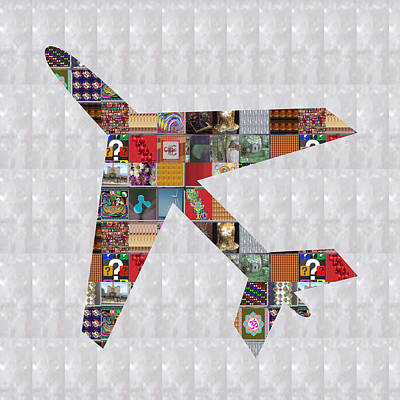 Social Issues Painting - Aeroplane Fly Showcasing Navinjoshi Gallery Art Icons Buy Faa Products Or Download For Self Printing by Navin Joshi