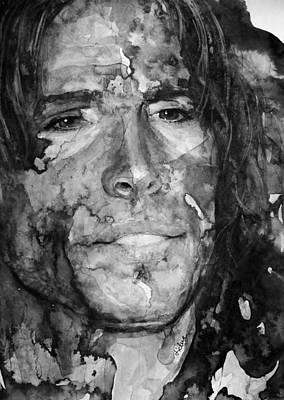 Steven Tyler Digital Art - Aerosmith by Laur Iduc