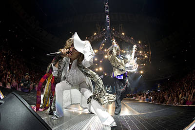 Global Photograph - Aerosmith - On Stage 2012 by Epic Rights