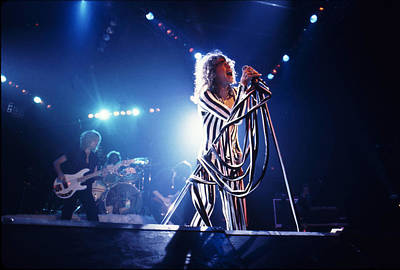 Aerosmith - Pinstripes And Love Bites 1970s Print by Epic Rights