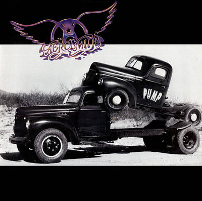 Aerosmith Photograph - Aerosmith - Pump 1989 by Epic Rights