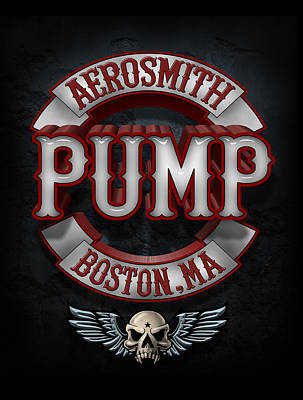 Aerosmith Photograph - Aerosmith - Pump by Epic Rights