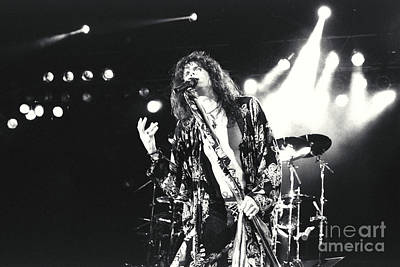 Concert Photograph - Aerosmith-steven-23 by Timothy Bischoff