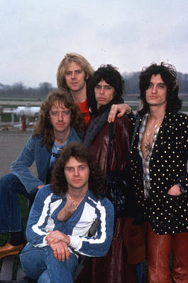 Aerosmith Photograph - Aerosmith - Terre Haute 1977 by Epic Rights