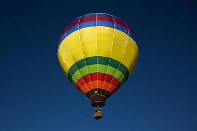 Hot Air Photograph - Aerostatic Balloon by Genaro Rojas