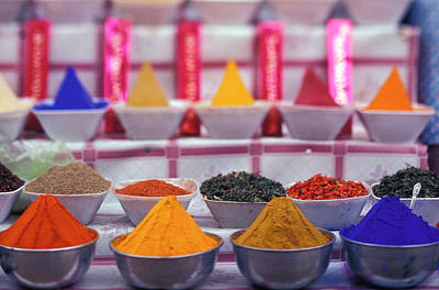Ies Photograph - Af, Egypt, Aswan, Colorful Spices by Stuart Westmorland