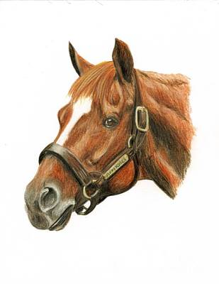 Affirmed Print by Pat DeLong
