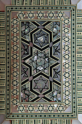 Inlay Photograph - Africa, Egypt Typical Wood Box Inlaid by Kymri Wilt