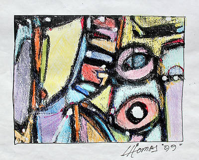 Abstract - Expressionist - African Art Painting - Africa In My Veins by Hari Thomas
