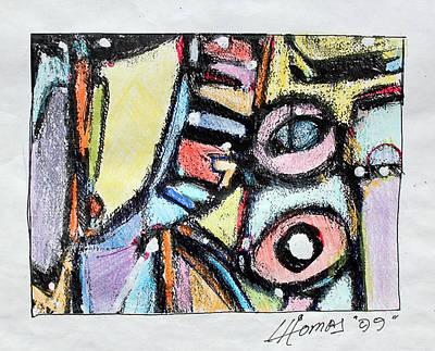 Hari E. Thomas Painting - Africa In My Veins by Hari Thomas