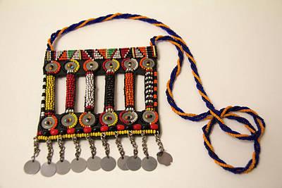 Necklace Photograph - Africa, Kenya Maasai Tribal Beadwork by Kymri Wilt