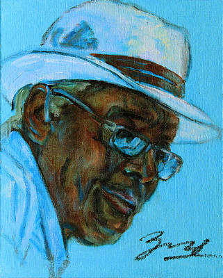 African American Painting - African American 9 by Xueling Zou