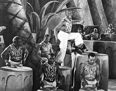African-american Photograph - African American Musical Scene by Underwood Archives