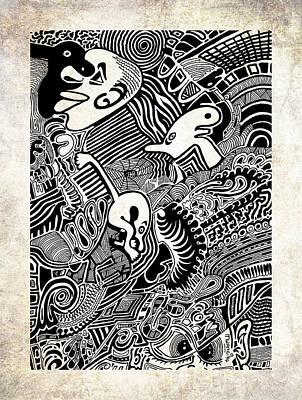 African Dream Print by Anthony Mwangi