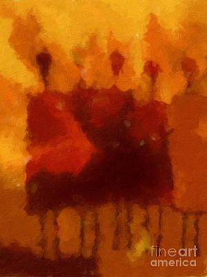 Baar Painting - African Impression by Lutz Baar