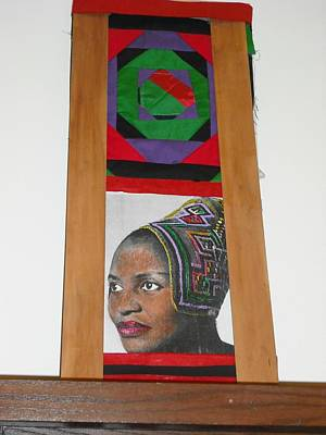 Advocate Mixed Media - African Prelude To Makeba by Sheila  King