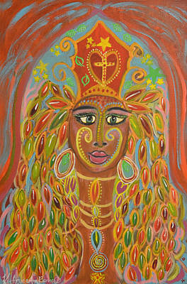 Ageless Painting - African Princess by Kathryn Bonner