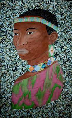 African Queen Print by Linda Egland