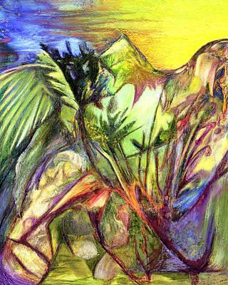 After Cezanne Original by Ethel  Mann