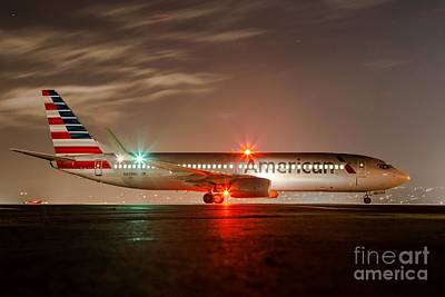 American Airlines Photograph - After Hours by Alex Esguerra