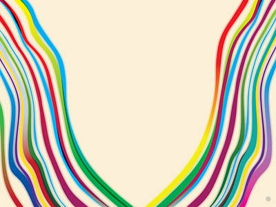 After Morris Louis 2 Print by Gary Grayson