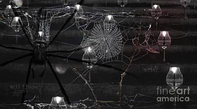 Web Of Life Digital Art - After by Nola Lee Kelsey