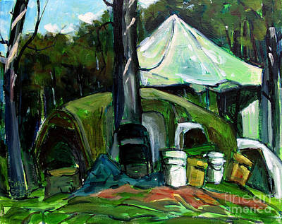 Artifacts Painting - After The Big Rain by Charlie Spear