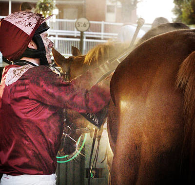 Horses Photograph - After The Race by Paul Sutcliffe