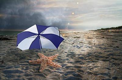 Umbrellas Digital Art - After The Storm by Betsy C Knapp