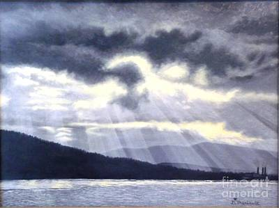 After The Storm Print by Beverly Theriault