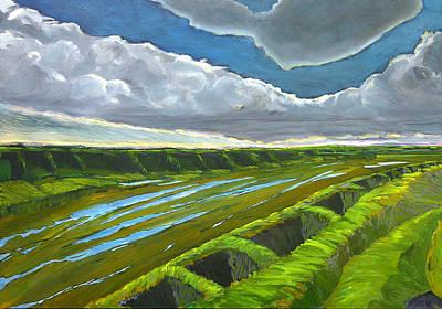Desert Painting - After The Storm by Martin Zgodinski