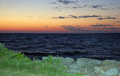 Sea Photograph - After The Sunset by Aimee L Maher Photography and Art Visit ALMGallerydotcom