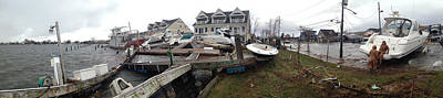 Hurricane Sandy Photograph - Aftermath Of Hurricane Sandy, Island by Panoramic Images