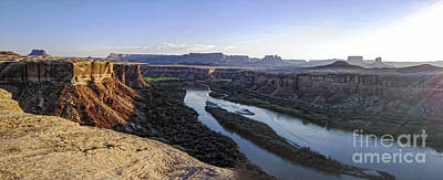 Ute Photograph - Afternoon Above The Green River by Scotts Scapes
