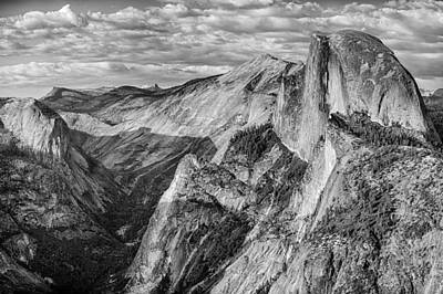 Afternoon At Half Dome Print by Harry H Hicklin