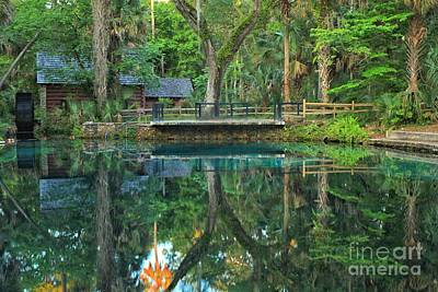 Ocala Photograph - Afternoon At Juniper Springs Mill House by Adam Jewell